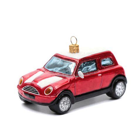 red mini cooper christmas ornament blown glass ornament mini cooper sales on holyart