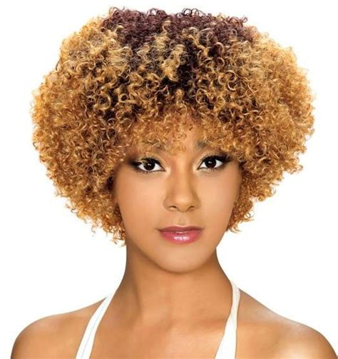 styling an afro wig 69 best natural looking wigs images on pinterest curly