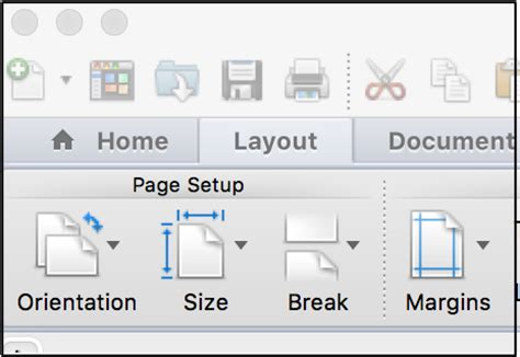 layout in word mac word for writers part 8 section breaks writing through