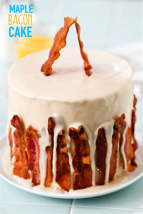 maple bacon maple bacon cake confessions of a cookbook