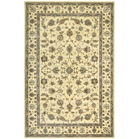 nourison 2000 ivory 5 ft 6 in x 8 ft 6 in area rug