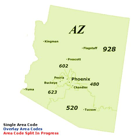 Phone Lookup Arizona Arizona Area Code Map My