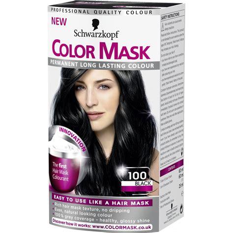 schwarzkopf color hair color by schwarzkopf schwarzkopf color mask 100 black