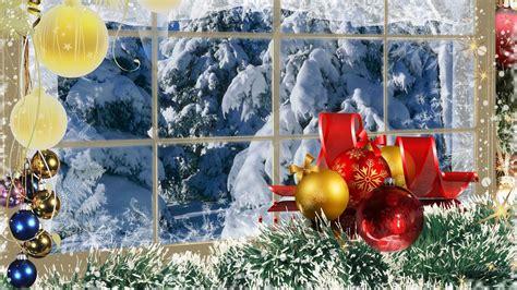 wallpaper desktop christmas scenes christmas winter scenes wallpapers wallpaper cave