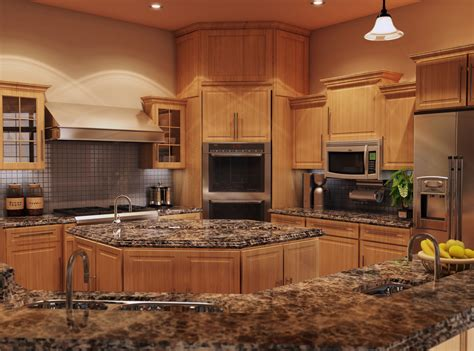 Countertop Options Kitchen Furniture Granite Material For Countertop Options In Modern Luxurious Kitchen Interior