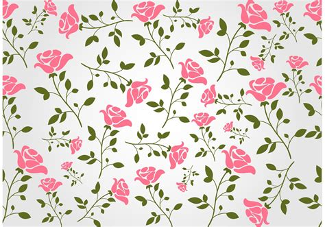 Floral Seamless seamless floral vector background free vector