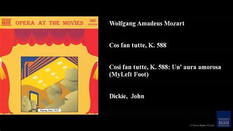 cosi fan tutte translation wolfgang amadeus mozart cos 236 fan tutte k 588