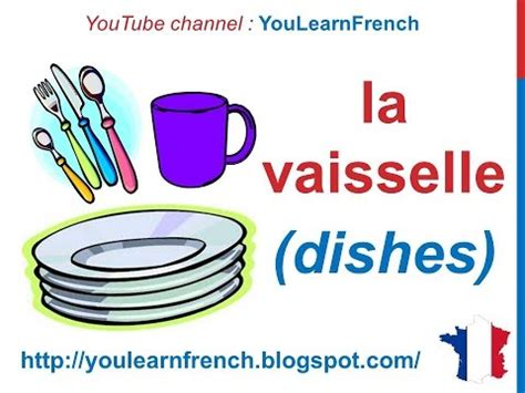 french lesson 82 kitchen utensils appliances vocabulary