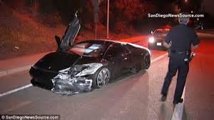 Lamborghini Smash Crashes And Abandons 220k Lamborghini On The