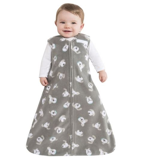 sleep sack halo sleepsack wearable blanket micro fleece gray pooch