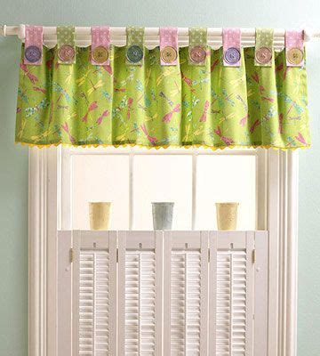 how to make tab top curtains with buttons 17 best images about curtain valance on pinterest