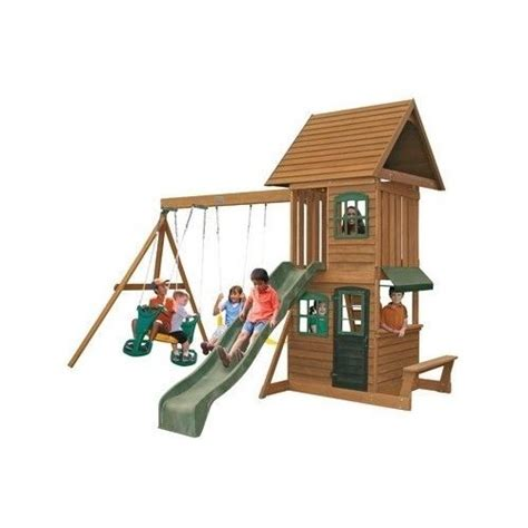 wooden swing set with slide best 25 playset slides ideas only on pinterest kids