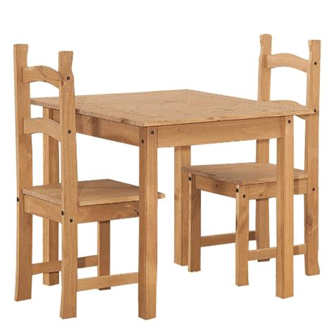 solid pine square dining table cor023 ebay