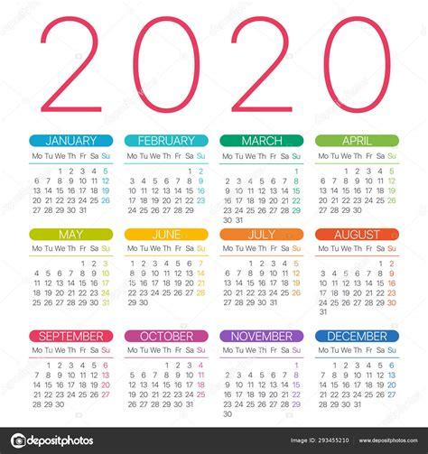 calendario  ilustracion grafica de la plantilla vectorial de linea delgada de lunes