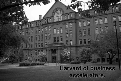 Size Of Harvard Mba Class by Harvard Of Business Accelerators J Thomson