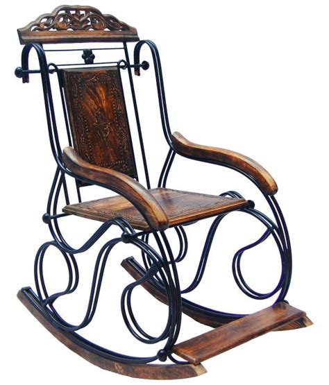 wrought iron rocking bench pindia fancy wrought iron decorative rocking chair buy