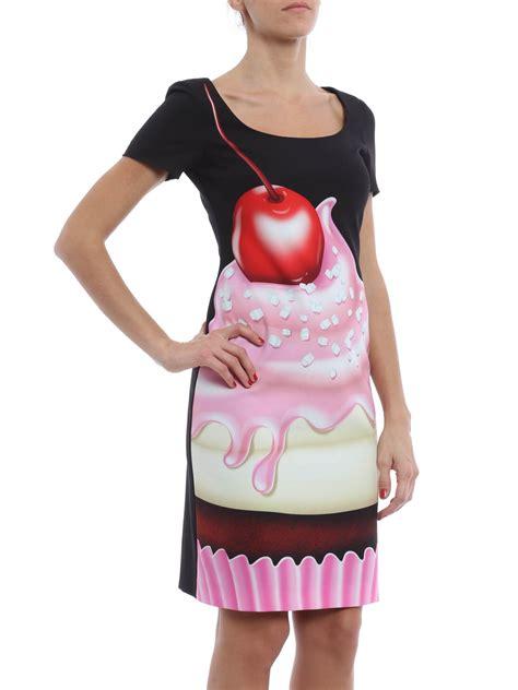 An Dress Moschino cupcake print dress by moschino boutique dresses
