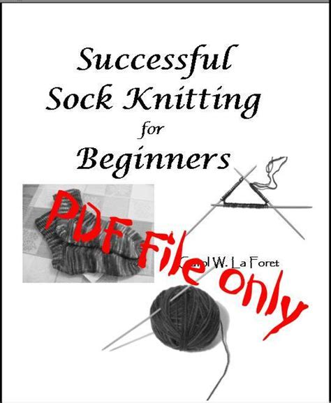knitting basics for beginners pdf successful sock knitting for beginners pdf file