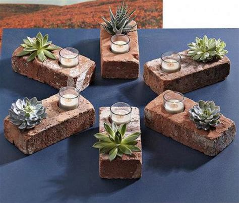 diy backyard projects pinterest creative diy gardening idea 25 repurposed brick planter
