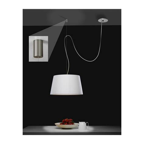 Patère déportée Suspension Pendant nickel mat Astro Lighting