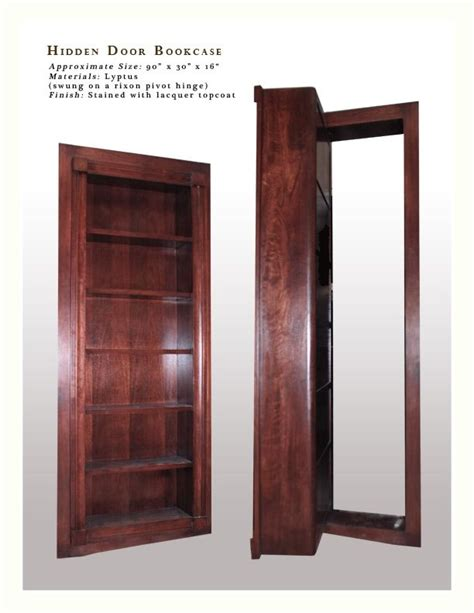 handmade door bookcase by birdseye custom millwork