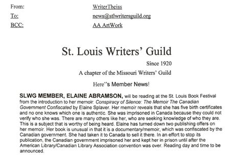 st louis writers guild st louis writers guild st louis elaine sandra abramson author artist illustrator