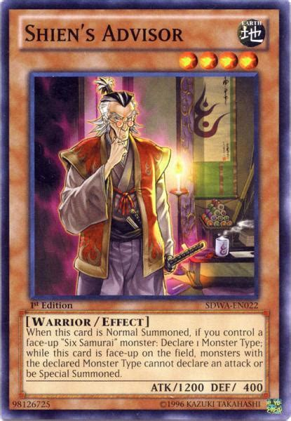 Kartu Yugioh Shiens Footsoldier Common yugioh zexal samurai warlords structure deck single card