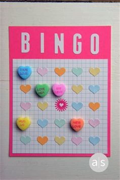 conversation hearts bingo cards template holidays on bingo minute to win it and valentines