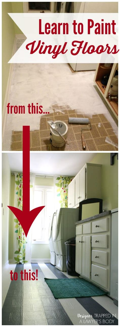 How To Paint Vinyl Floors by Learn How To Paint Vinyl Floors Yes You Can Do That