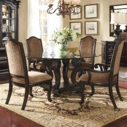 antique and vintage round glass top dining tables with
