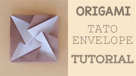 Origami Envelope Tutorial - origami envelope square gallery craft decoration ideas