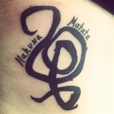 hakuna matata symbol tattoo 71 best images about ideas on fonts
