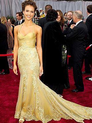 Oscars Carpet Alba by The Best Dresses Of The Year