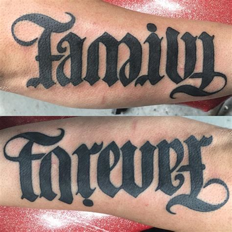 double meaning tattoos ambigram chhory