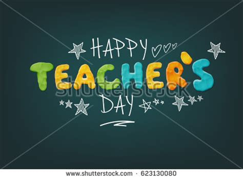 happy teachers day card template teachers day stock images royalty free images vectors