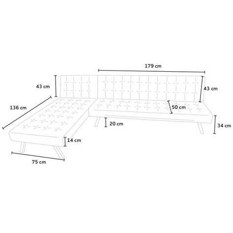 divani ad angolo con letto divano angolare pronto letto in similpelle con penisola 3