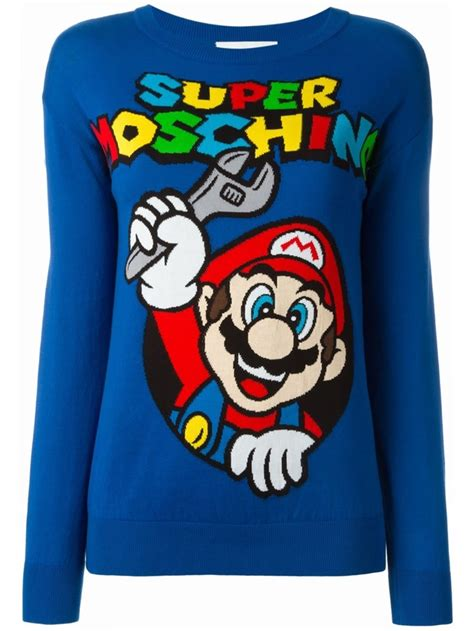 Sweater Dod Bro Jidnie Clothing moschino x mario bros clothing bags shop