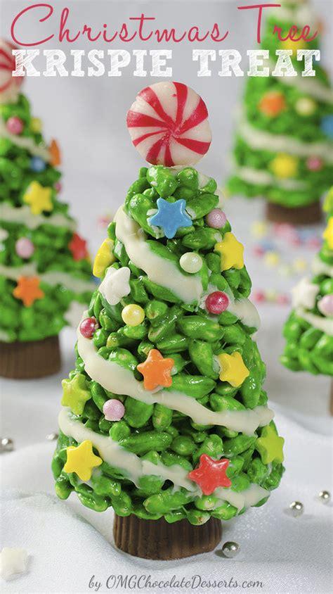 christmas tree rice krispie treats pictures