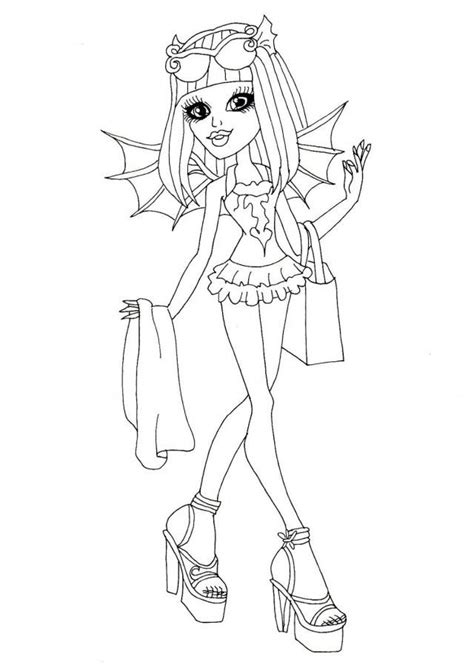 september 11 coloring pages free printable monster high
