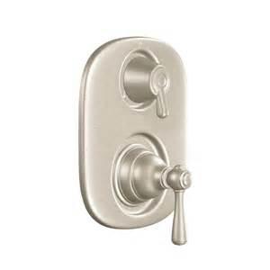 moen t4111bn kingsley moentrol tub shower transfer valve