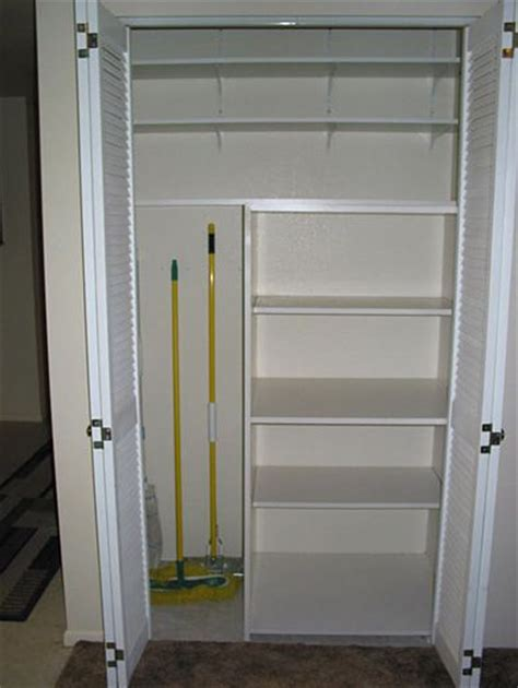 Broom Closet 17 Best Ideas About Utility Closet On Pull Out