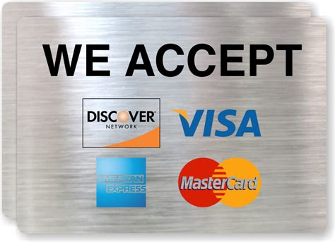 American Express Gift Card Stores Accepting - visa mastercard american express cards accepted label sku lb 2067
