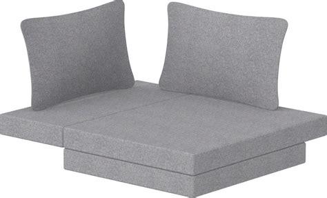 Sofa Bed With Foam Mattress by Flexa Foam Mattress For The Flexa Sofa Bed Interismo Uk