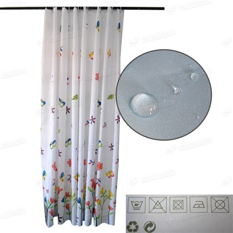 extra length shower curtains bathroom shower curtains extra long size 200 240cm w