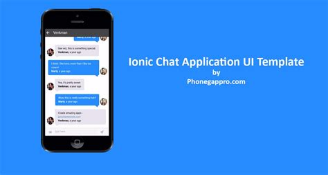 phonegap ui template ionic chat application template phonegap apache
