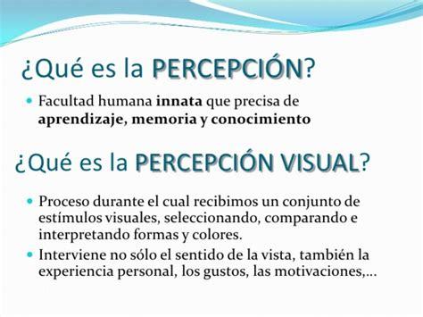 imagenes percepcion visual para niños cuadros sin 243 pticos y mapa conceptuales sobre la percepci 243 n