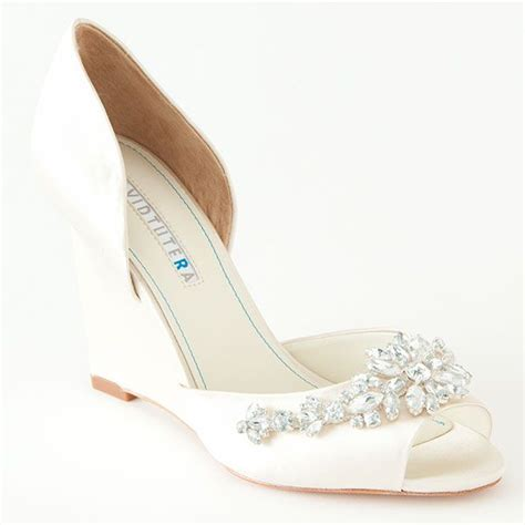 comfortable wedding shoes wedges best 25 wedge wedding shoes ideas on pinterest bridal
