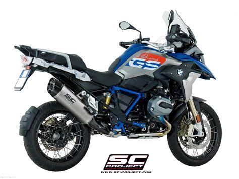 titanium quot adventure quot exhaust by sc project bmw r1200gs