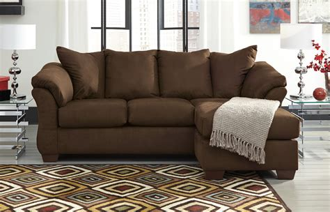 ashley darcy sectional ashley darcy sofa with chaise 7500418 orange county ca