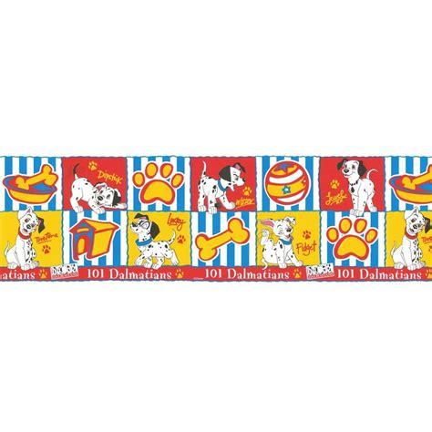 Disney Wallpaper Border Uk | buy 101 dalmatians official wallpaper border